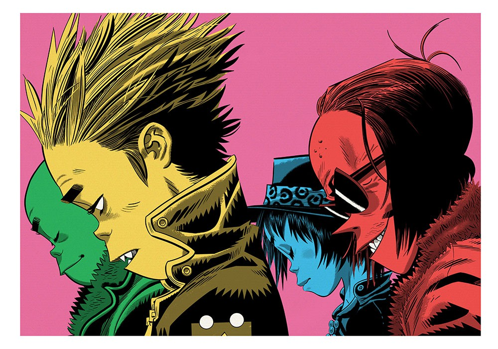 Gorillaz interview on the now now 2d reveals all about - Gorillaz 2d wallpaper ...