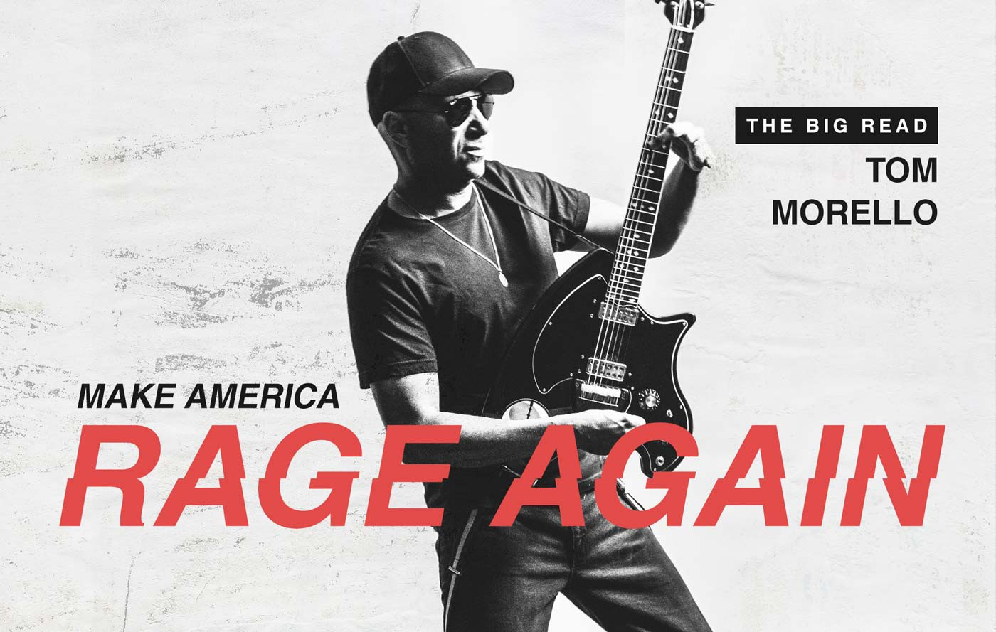 Tom Morello Big Read